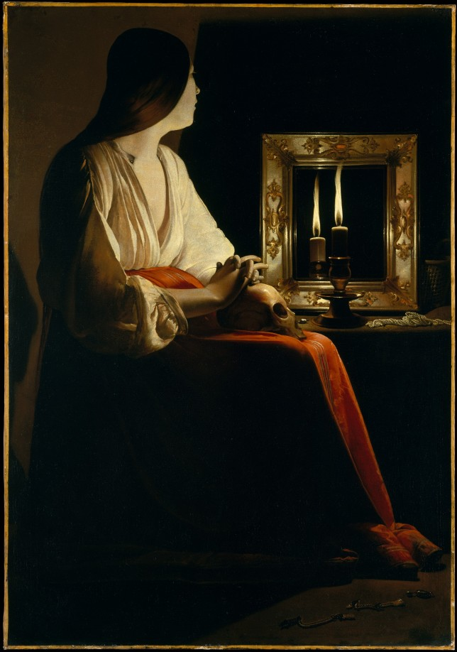 Georges_de_La_Tour_009 The Penitent Magdalene